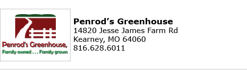 Penrods Greenhouse logo