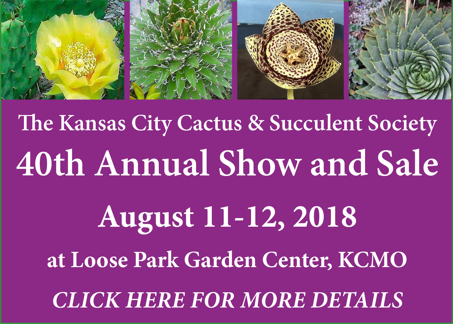 Kansas City Cactus & Succulent Society
