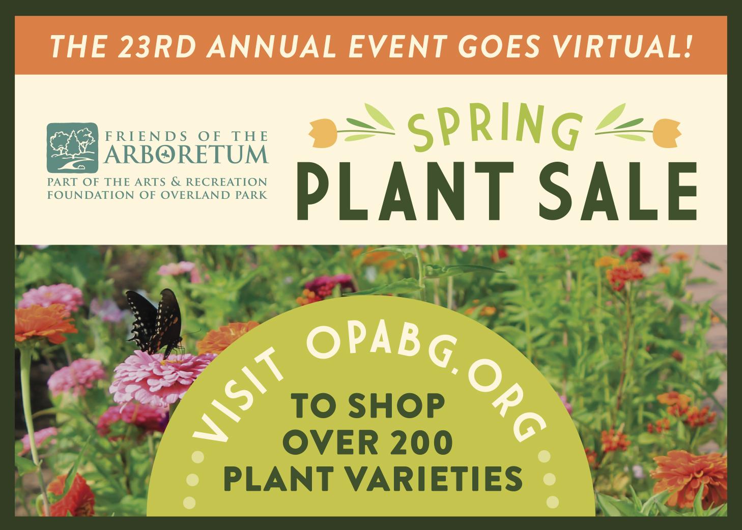OPA Plant Sale